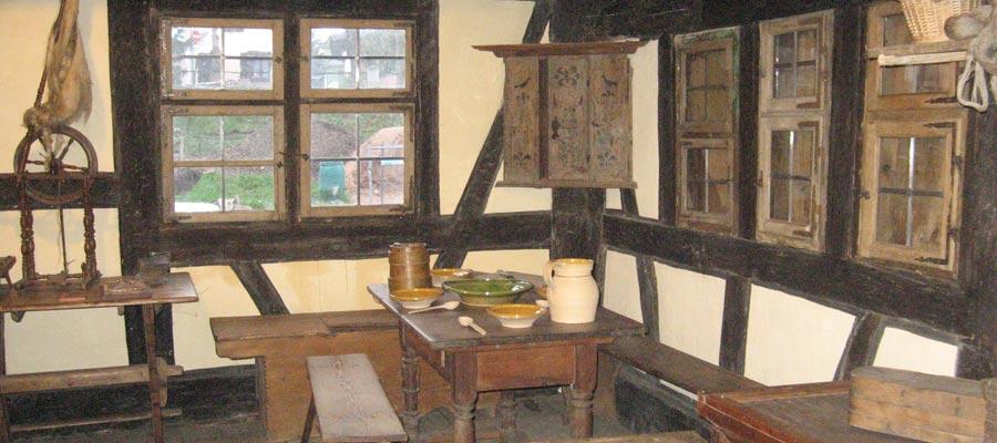 Un intérieur typique des maisons Alsaciennes